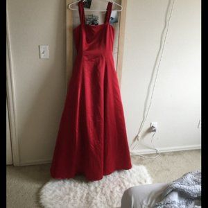 RED PROM DRESS SIZE S (0-2)
